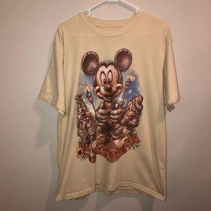 Mickey Mouse Disney Tiki Kingdom Summer T Shirt
